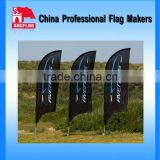 Custom Outdoor Banner Stands Displays Beach Feather Flag Pole