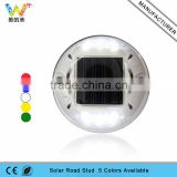 White plastic custom aluminum solar power road stud 3m road reflector