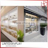 Wooden structure bakery shop design bakery shop furniture