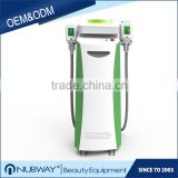 CE / FDA approved 2 cryo handles cellulite lipo slim cellulite reduction fat freezing liposuction machine