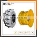 Combine harvester tire, sugar cane tire 23.1-26 with wheel rim DW20X26