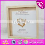 wholesale cheap classic wooden picture frames with customize logo W09A005