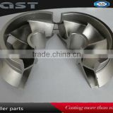 2014 casting hot sale impeller/Mechanical Parts / stainless/ carbon steel precision casting impeller for pump