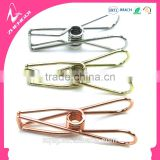 32mm 55mm 70mm rose gold silver color metal wire folder binder clips for practical stationery supplies gift sets