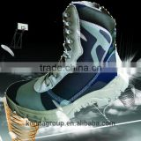 Steel toe cap smooth leather Construction S3 safety shoe factory army boot flyton FT-2121G
