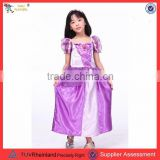 PGCC2250 Fancy Dress Costume Plus Size Tangled Rapunzel Princess Costume Dress 4-5 Toddler