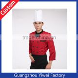 Custom chef works uniform /cheap 100% cotton chef uniform on line sell