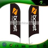 China supplier wholesale cheap outdoor advertising banners, beach flying banner flags