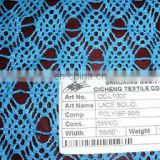 2013 new design fashional polyester/spandex 95/5 lace for all ladies' garment accessories