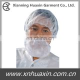 disposable non-woven beard cover for food processing