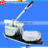 158mm big button press machine,mirror maker,clock maker