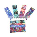 Popular Multi Colors Sublimation Printing Moisture Wicking Sport Headband