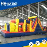 Giant outdoor adult inflatable obstacle course with EN14960 and CE / cheap kids games inflatable combo obstacle course