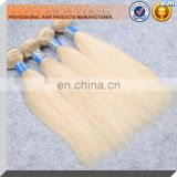 2016 Best Selling Natural Blonde 100% Virgin 8A Grade Cheap Brazilian Remy Human Hair Weave