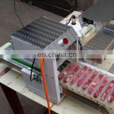 High Quality Vegetable Meat Wearing Machine meat kabab string machine wear kebab equipment