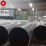 high quality and best price 45# tube making machinery lsaw welded black round steel pipe