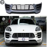 KM body kits 2014-2018  fit for  Macan-95B upgrade pp material Turbo-front bumper facelift