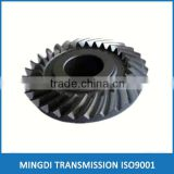 spiral bevel gear design assembly big aluminum forging differential micro straight helical mini