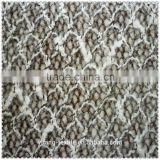Lambs wool polyester fabric
