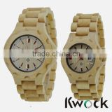 Newest Design Custom Wholesale pure wood watch ,wooden watches 2015
