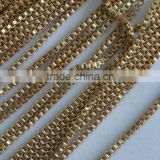 Hot Sale Jewelry Accessories Box Brass Jewelry Soldered Curb Chain