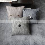 Decorative Memory Form Throw Pillow With Button