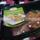 Chinese three-layers plastic packing meat tray