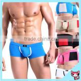 Low Waist Boxer Underwear wholesale Cotton Breath Freely Underwear Comfortable Shorts Underwear For Men