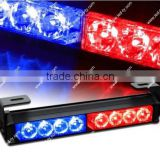 "9.5""LED Emergency Warning Traffic Advisor Vehicle Strobe Light Bar - Red & Blue"