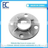 High quality round base plate flange/stainless flange duct flange/plastic handrail cover