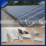 aluminum solar panel frame,solar mounting structure extruded profile