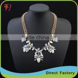 fashion women vintage gold statement necklace jewelry, women Accessories for China's alibaba