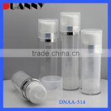 SMALL AIRLESS COSMETIC LOTION BOTTLE PACKAGING,ACRYLIC AIRLESS BOTTLE,SMALL AIRLESS BOTTLE
