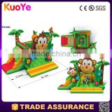 commercial jungle jumping castles sale juegos inflables china animal bouncers jumping castle and kids slide