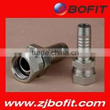 Professional supplier flat face quick couplings hydraulic fittings hose connectors factory direct price