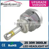Hot 60W 7200LM High Power LED HeadLight Bulb H4 H7 H11 9004 9007 H13 9005 9006