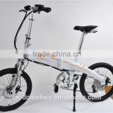 20 Inch Folding Electric Bike 36V 250W Electric Bicycle With Pedas/ Shima Derailleur / LCD Speed Display                                                                         Quality Choice