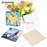 Sunmeta blank home decoration sublimation ceramic tile SCY13                                                                         Quality Choice                                                     Most Popular