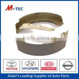 Hot 4515 lining brake shoe 04495-0K120 for Toyota Fortuner 06-08""