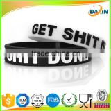 Multi Color Blank Silicone Bracelet Rubber Blank Sport Cuff Fashion Unisex Wristband