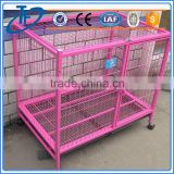 Hot sell pet dog cage with two doors and cat furniture product dog cages