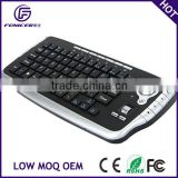 Portable smart-held 2.4g wireless keyboard with integrated trackball mouse for Laptop PC TV Box UK