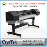 CRYSTEK Xenons X2A series 1.6m/1.8m DX5 DX7 head eco solvent printer 1440 DPI