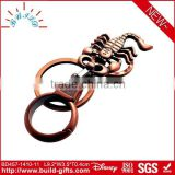 bronze floating key chains