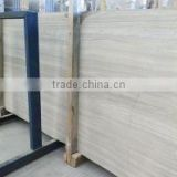 Light grey white wooden marble