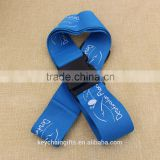 Wholesale polyester branded lanyard/ name brand lanyard with free sample