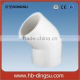 Factory/Low price 45 degree elbow- ASTM Schedule 80 PVC Pipe fittings