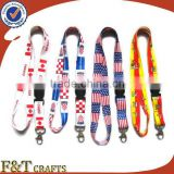 celebrating custom name brand neck strap key holder heated transfer lanyard