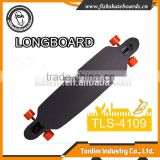 2016 New Design Best Canadian maple skateboard long board deck longboard blanks