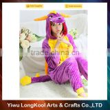 High quality low price animal costume mascot dinosaur costume for girl